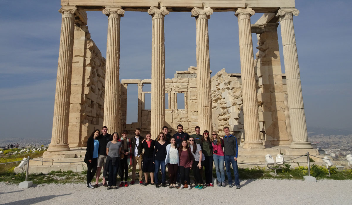 Greek-Latin class in Greece